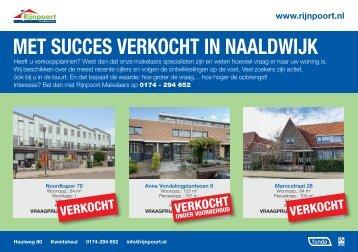 Met succes verkocht in Naaldwijk, door Rijnpoort Makelaars
