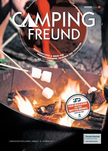 Campingfreund – Oktober  2017