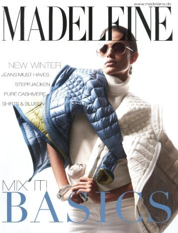 Каталог Madeleine Basic осень-зима 2017/2018. Заказ одежды на www.catalogi.ru или по тел. +74955404949