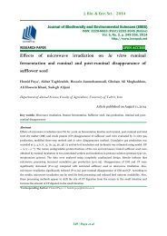 Effects of microwave irradiation on in vitro ruminal fermentation and ruminal and post-ruminal disappearance of safflower seed