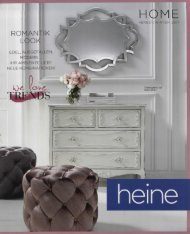 Каталог Heine Home осень-зима 2017. Заказ товаров на www.catalogi.ru или по тел. +74955404949