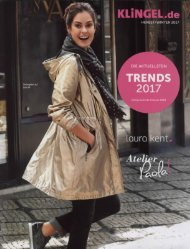 Каталог Klingel осень-зима 2017/2018. Заказ одежды на www.catalogi.ru или по тел. +74955404949