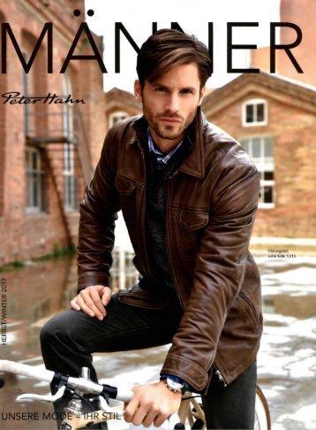 Каталог Peter Hahn Manner осень-зима 2017/2018. Заказ одежды на www.catalogi.ru или по тел. +74955404949