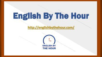 Internet Coaching in the Boston Accent - English by the Hour