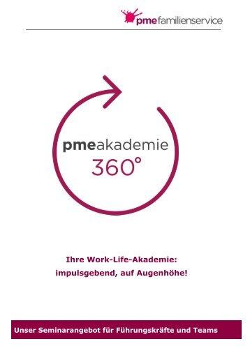 Seminarliste Akademie 360°