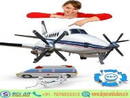 Avail India's Best Sky Air Ambulance Service from Kolkata to Delhi Anytime