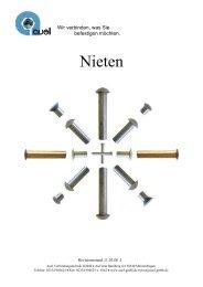 Nieten - auel Verbindungstechnik