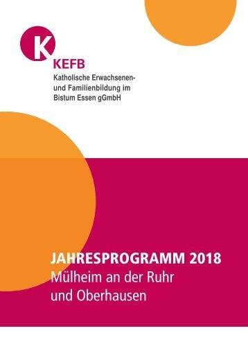 Mülheim-Oberhausen @KEFB Bistum Essen Programm 2018