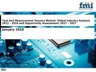 Test And Measurement Sensors Market