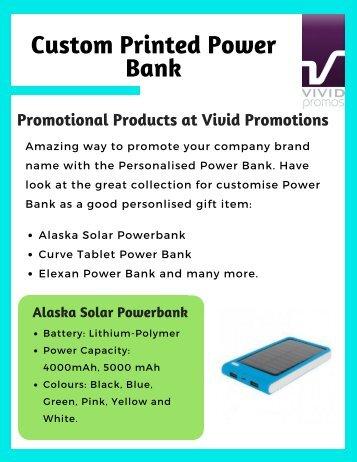 Promotional Powerbanks| Imprinted Powerbanks, Australia