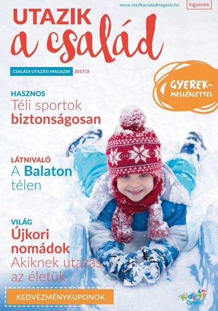 Utazik a család magazin 2017/3 Tél