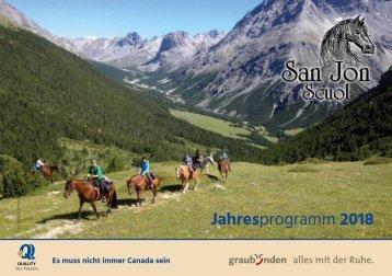 2018 Programm San Jon