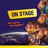 ON STAGE - Brochure