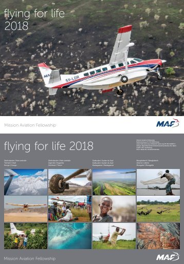 MAF Jahreskalender 2018 - Web