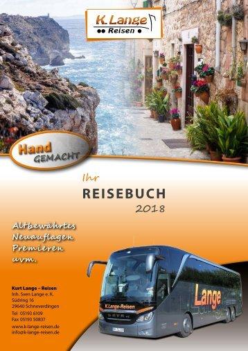 Kurt Lange-Reisen - Busreisen 2018
