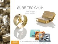 SURE TEC Brass Forging and Copper Forging