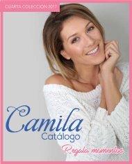 Catalogo Camila Cuarta Coleccion,haz click para ver digital