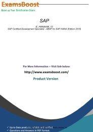 E_HANAAW_12 Certification Test