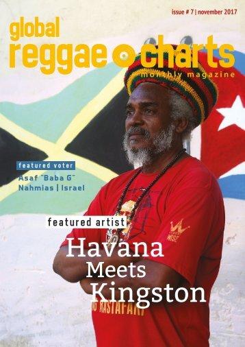 Global Reggae Charts - Issue #7 / November 2017