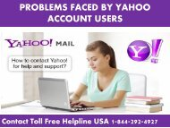 Yahoo Customer Support USA #1-844-292-4927