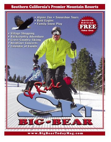 Ski & Ride Big Bear Magazine 2017-18