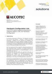 Hardware Configuration Link - Aucotec AG
