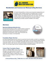 All Hands Waterproofing and Foundation Repair Omaha