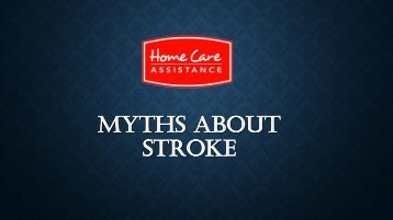 Myths About Stroke