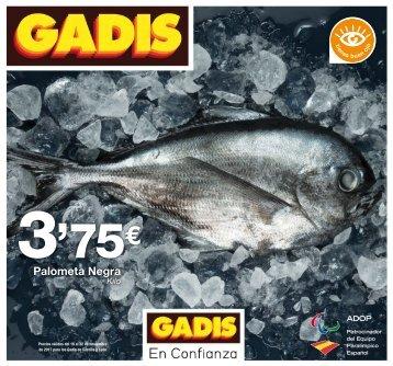 Folleto GADIS del 16 al 22 de Noviembre 2017 Castilla y León