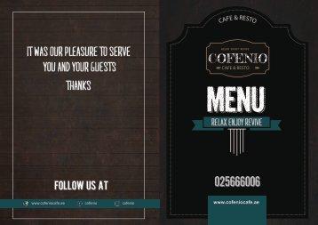 final menu last correction