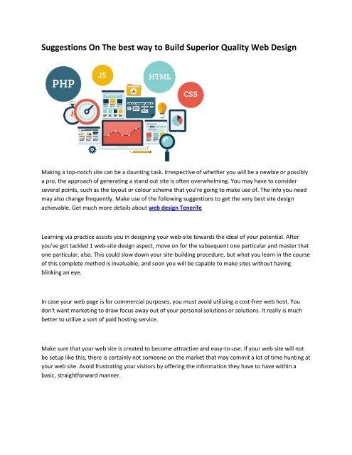 6 Web Pages Design