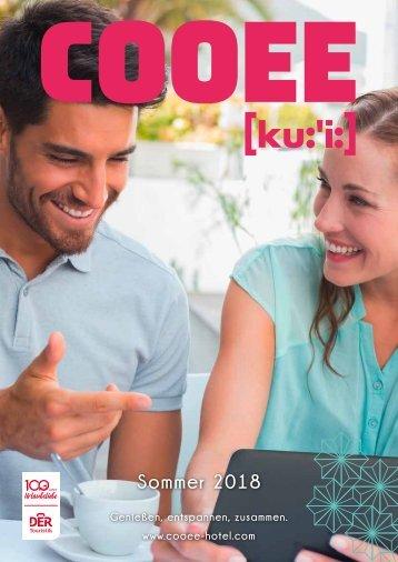 COOEE Broschüre Sommer 2018