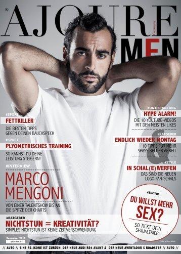 AJOURE´ Men Magazin Dezember 2017