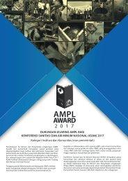 Leaflet Jejaring tentang AMPL Award non pemerintah untuk KSAN 2017-min