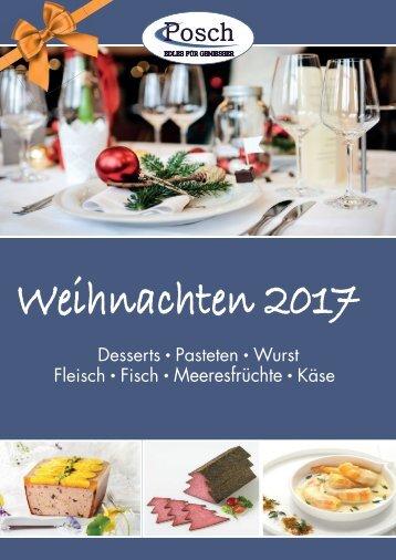 Posch Weihnachtskatalog RZ 2017-09-27