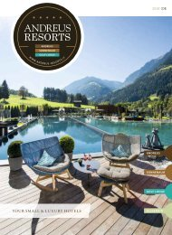 Andreus Resorts*****  small & luxury Resorts in the Alps