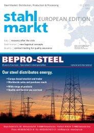 stahlmarkt European Edition 01.2011