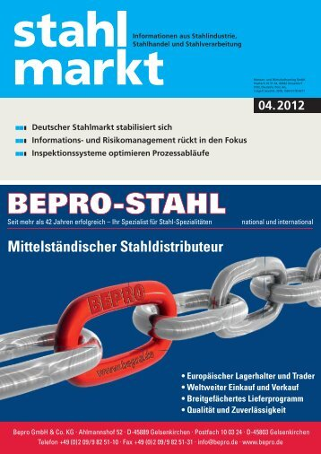 stahlmarkt 04.2012 (April)