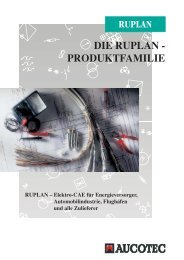 DIE RUPLAN - PRODUKTFAMILIE - Aucotec AG