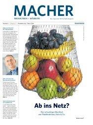MACHER - Menschen + Märkte Ausgabe 11 - November 2017