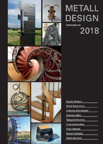 MetallDesign Jahrbuch 2018-Vorschau