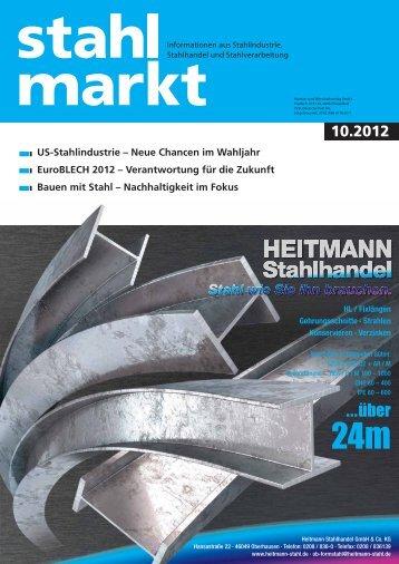 stahlmarkt 10.2012 (Oktober)