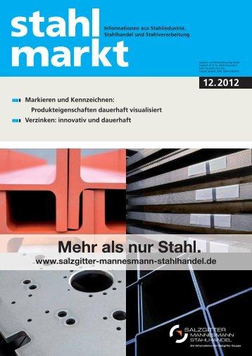 stahlmarkt 12.2012 (Dezember)