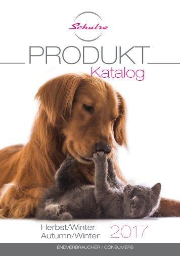 Produktkatalog Herbst - Winter 2017 / 2018