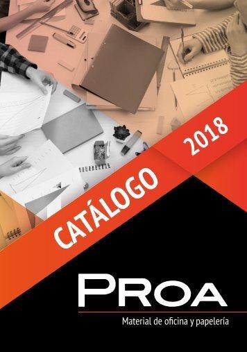PROA catalogo 2018