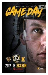 Kingston Frontenacs GameDay November 17, 2017