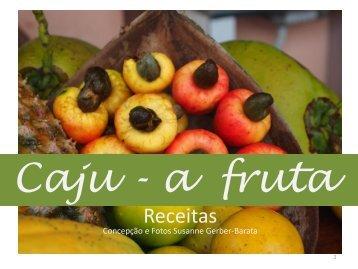 Receitas com a fruta do caju