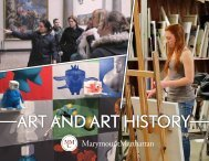 Art and Art History Division 2017–18