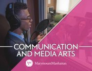 Communication and Media Arts Division 2017–18