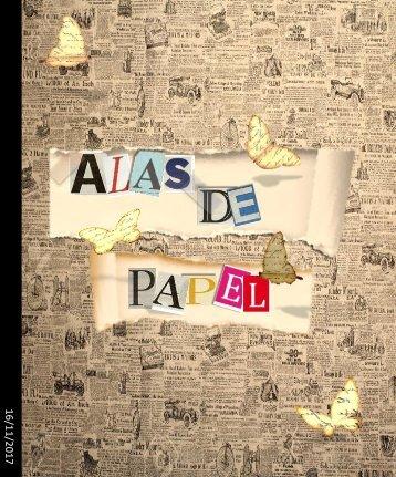 Revista Alas de papel. Grupo 103